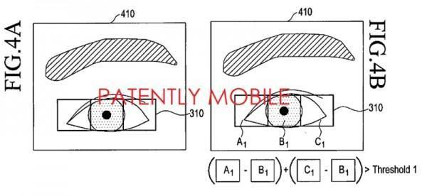 Sensore di riconoscimento iride Samsung