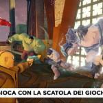 DISNEY INFINITY 2.0 SCATOLA DEI GIOCHI