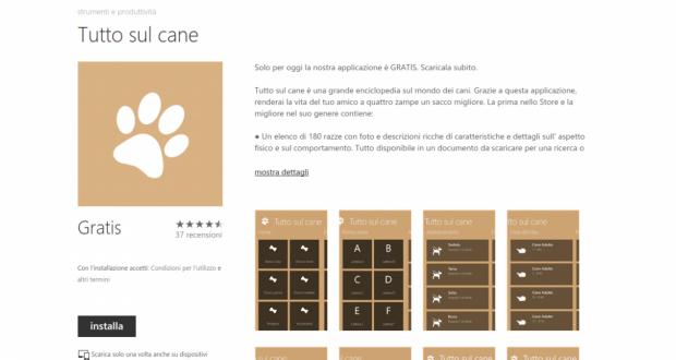 Tutto sul cane   Store di app e giochi per Windows Phone  Italia