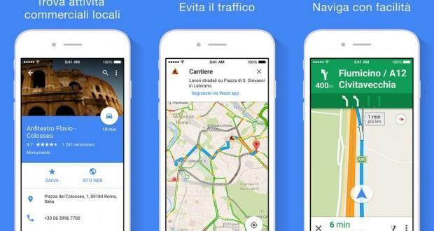 google maps per iOS