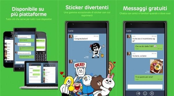 line per Windows phone