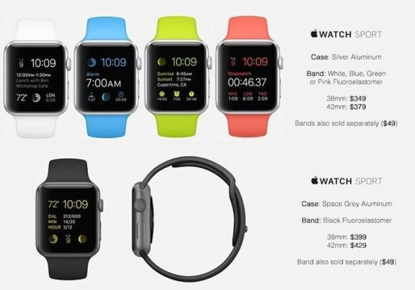 Apple Watch Sport Prezzi