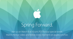 Apple Keynote 9 Marzo