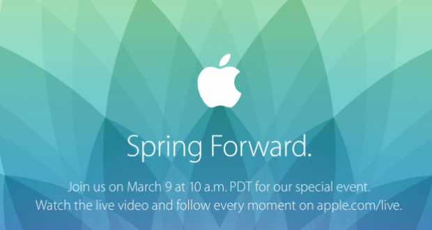 Apple Keynote 9 Marzo
