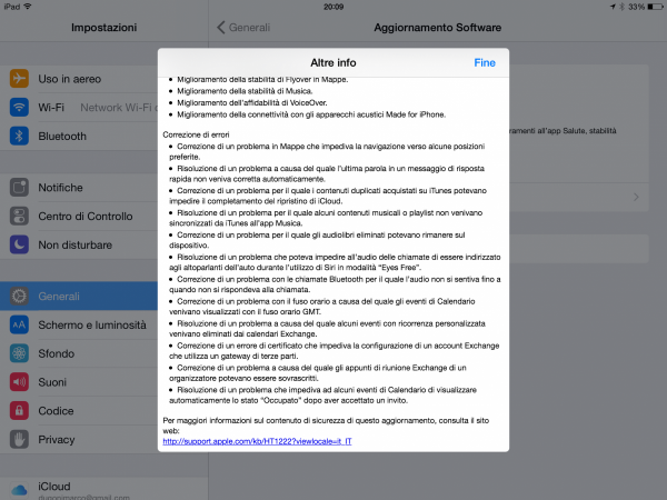 iOS 8.2 Changelog