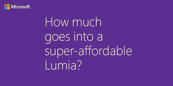 Microsoft Lumia entry-level