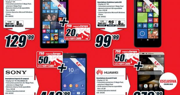 Volantino Media World   750 negozi in Europa   marzo 2015 a partire dal 19 03 2015 e fino al 29 03 2015
