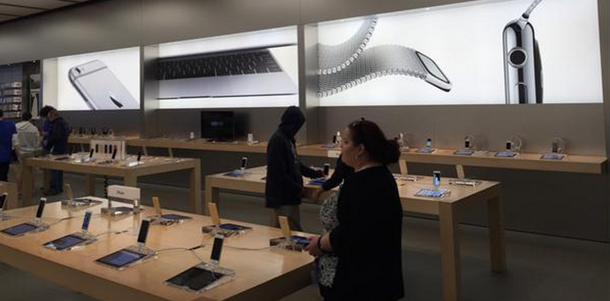 Apple Store con Apple Watch