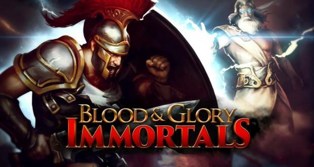 blood & glory immortals