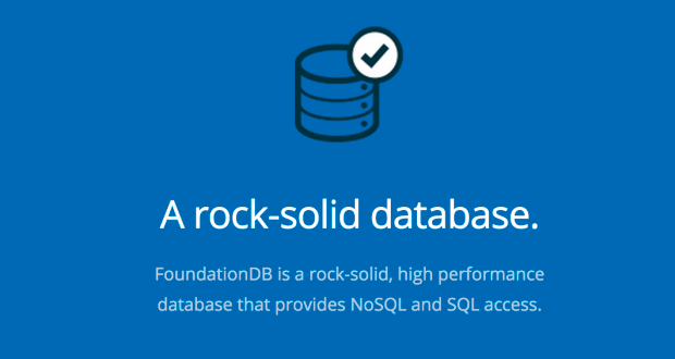apple - foundationdb