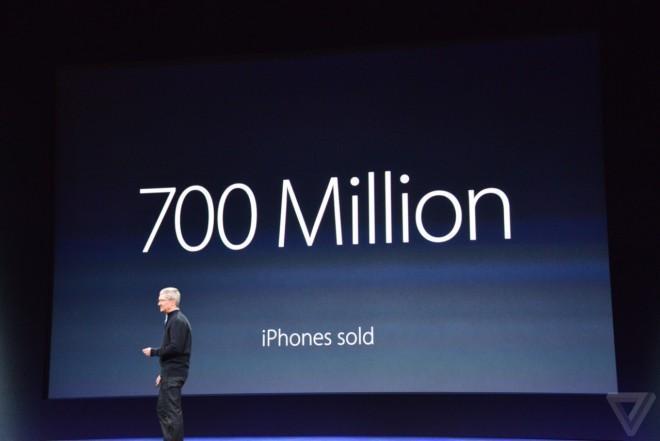 iPhone 700 milioni