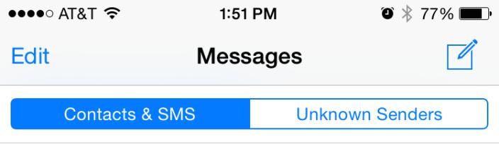 iOS 8.3 Messaggi