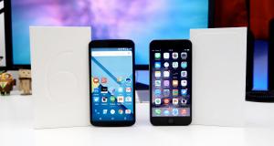 Apple Store - iPhone vs Nexus