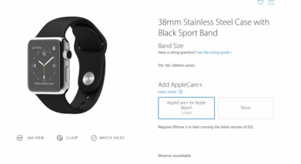 AppleCare+ Apple Watch