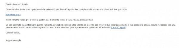 Come cambiare password all'Apple ID 5
