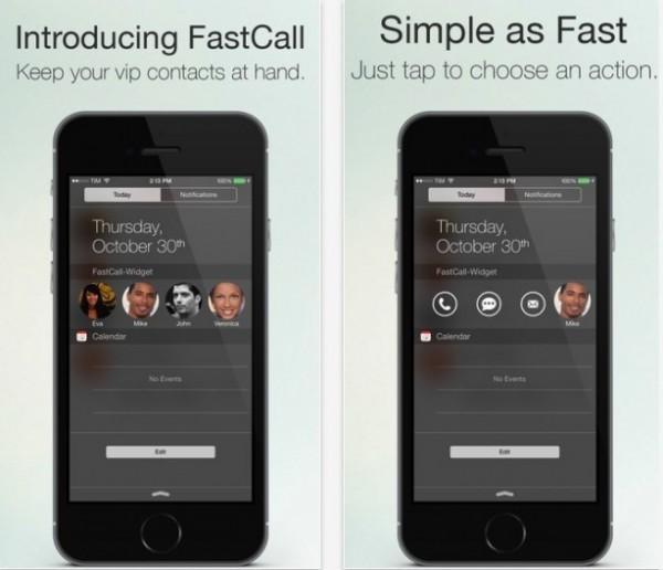 Fastcall iOS 8