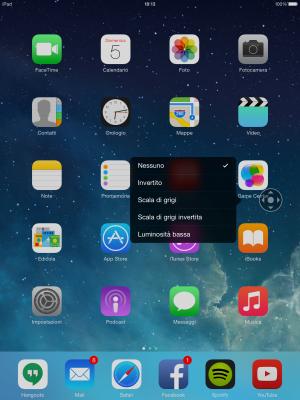 Come ridurre la luminosità di iPhone ed iPad oltre il minimo
