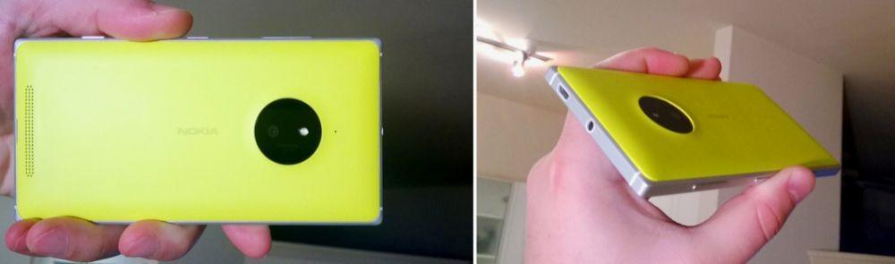 Nokia Lumia 830 giallo 2