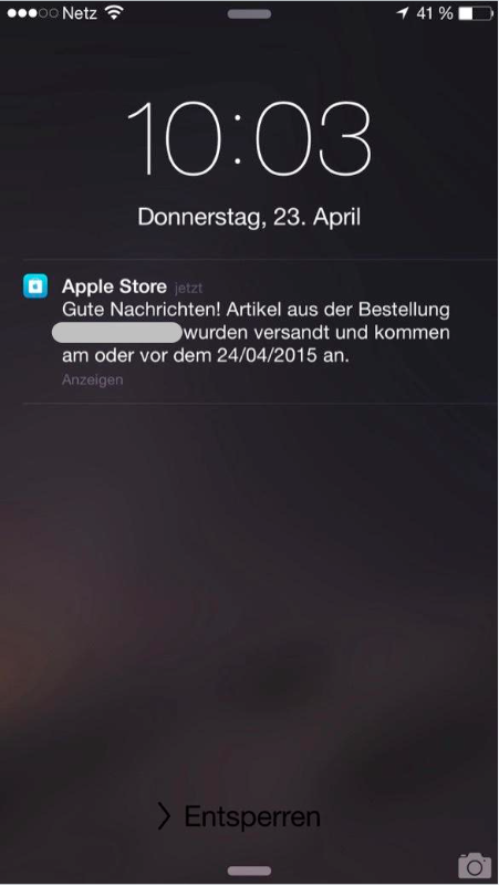 Apple Watch Spedizioni