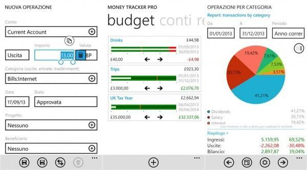 money tracker pro 2