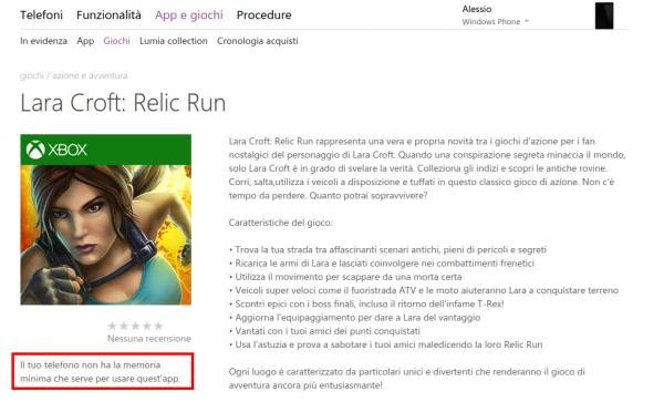 Lara Croft  Relic Run   Store di app e giochi per Windows Phone  Italia