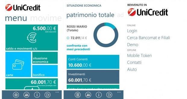 Mobile Banking UniCredit 1