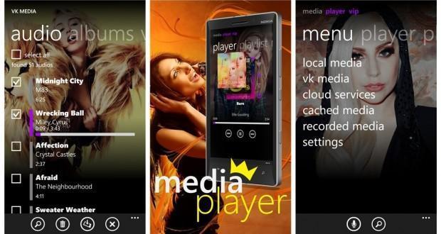 Sky Media Player VIP per windows phone