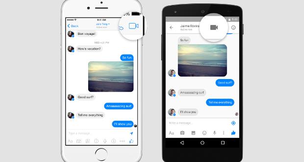 Facebook Messenger Video Chiamate