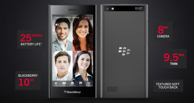 """BlackBerry Leap – New BlackBerry Smartphone with 5"""" HD Screen   EN"""