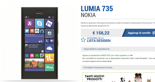 PosteShop   Lumia 735