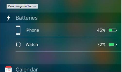 iOS 9 Batteria