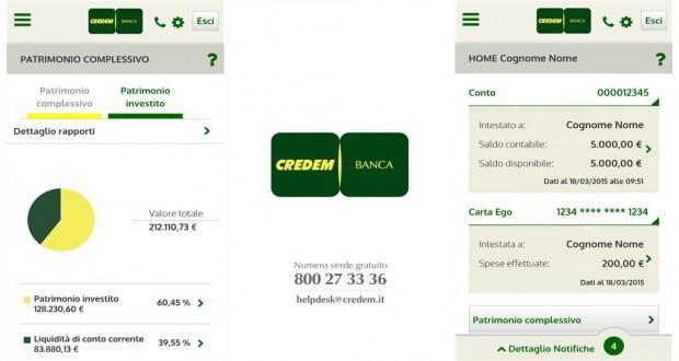 credem mobile banking windows phone
