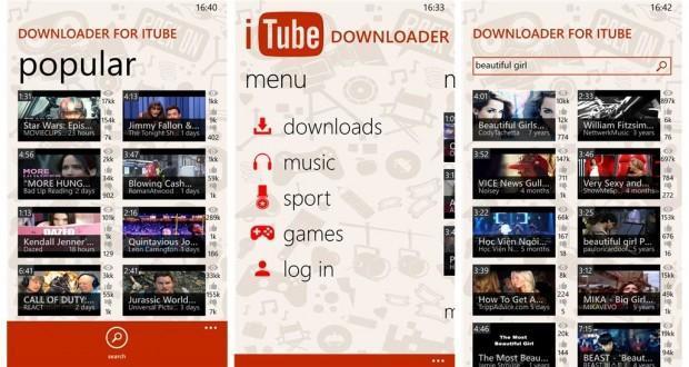 downloader for itube