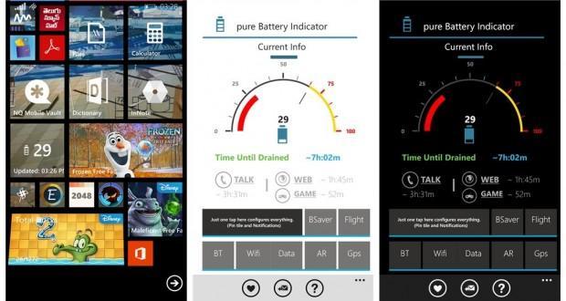 pure battery indicator pro