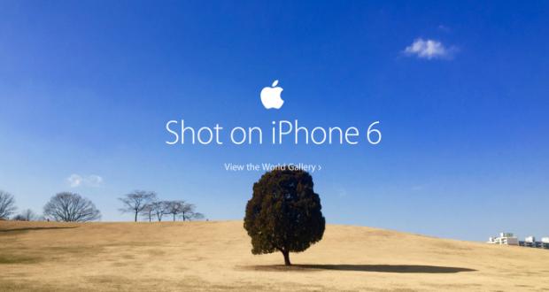 Apple Scattata con iPhone