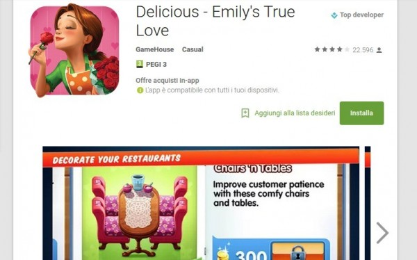 Delicious   Emily s True Love   App Android su Google Play