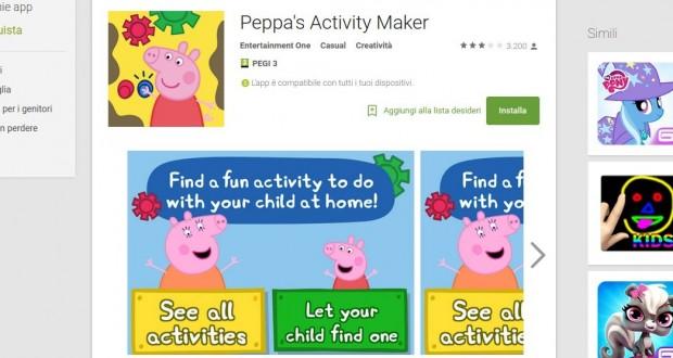 Peppa s Activity Maker   App Android su Google Play