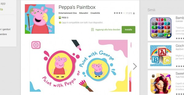 Peppa s Paintbox   App Android su Google Play