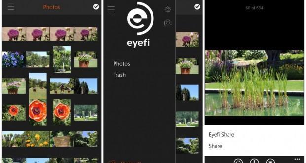 eyefi mobi per windows phone