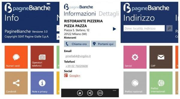 pagine bianche per windows phone 2