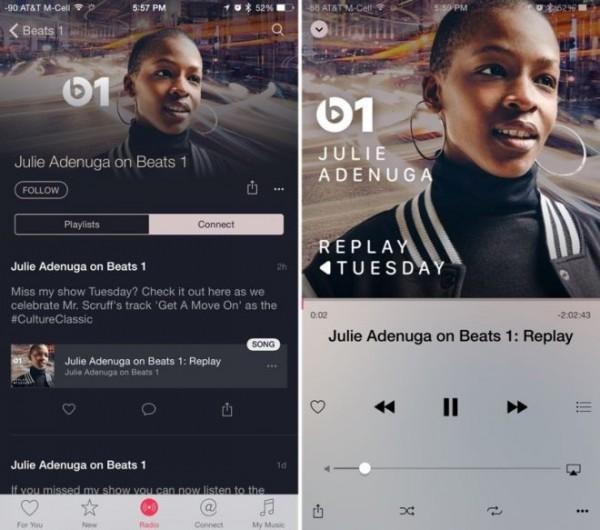 Apple Music replay