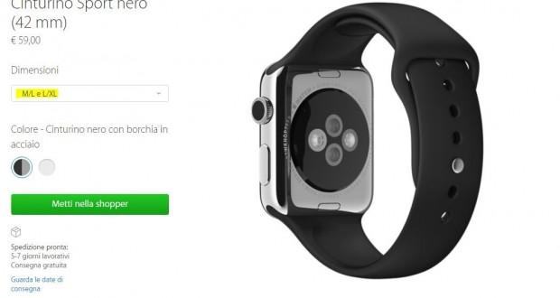 Apple Watch cinturino Sport XL