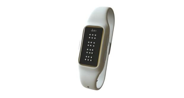 Dot smartband Braille