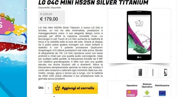 LG G4c Mini H525N Silver Titanium   Gli Stockisti  Smartphone  cellulari  tablet  accessori telefonia  dual sim e tanto altro