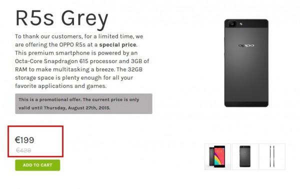 OPPO R5s Grey   OppoStyle Europe