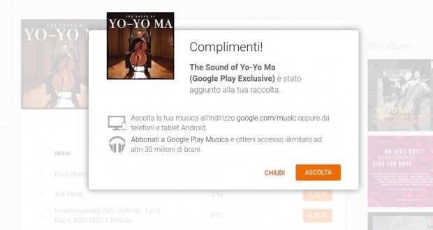 Yo Yo Ma  The Sound of Yo Yo Ma  Google Play Exclusive    Musica su Google Play