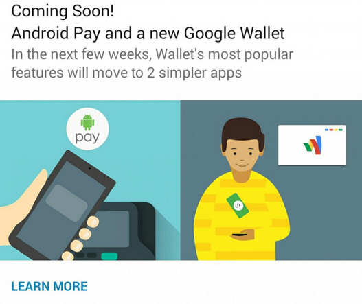Android Pay arrivo USA
