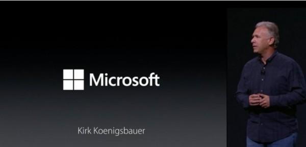 Kirk Koenigsbauer evento Apple iPad Pro
