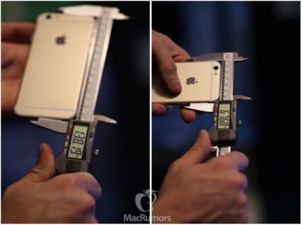 Misure iPhone 6s