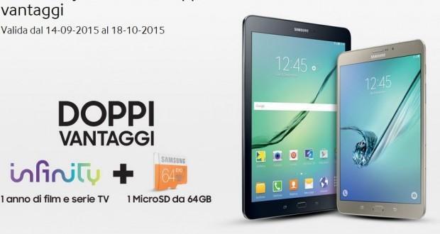 Promozione Samsung Galaxy Tab S2 LTE